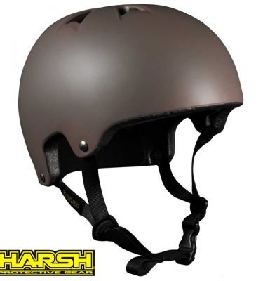 HARSH PRO EPS Helmet Bronze - Best Skateboard Helmet - Wake2o Shrewsbury UK