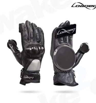 Loaded Leather Race Gloves - Best Quality Longboard Gloves On The Market - Buy From UK Skate shop - Wake2o