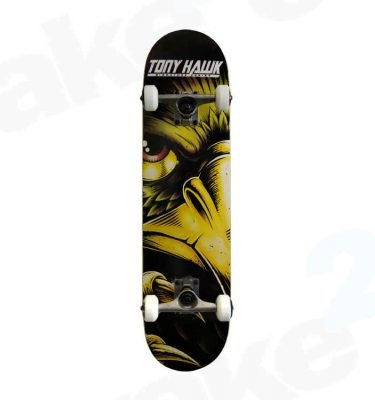 Tony Hawk Skateboards 540 Series Evil Eye Gold - Shrewsbury Skate Shop - Wake2o