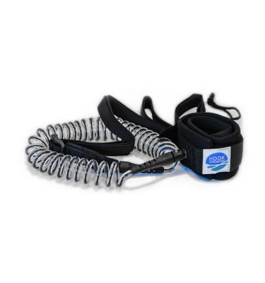 HOOK SUP Leash Coiled clear
