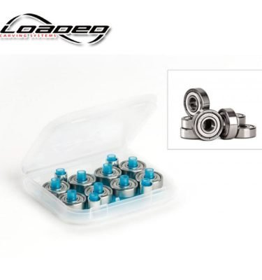 LOADED-JEHU-ABEC-5-LONGBOARD-BEARINGS-BOXED-W/SPACERS