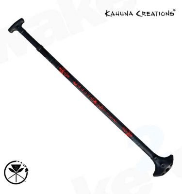 Kahuna Creations Big Stick Haka - Adjustable Land Paddle - Best Original Land Paddles For Sale - Wake2o