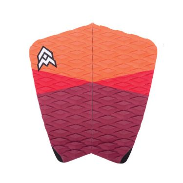 Aerial Material surfboard Tail Pad JOEL orange red