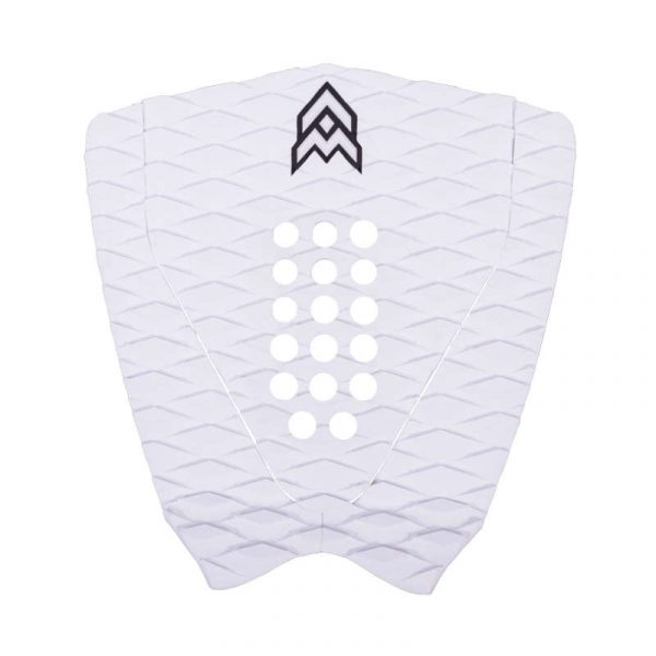 Aerial Material surfboard Deck Pad JOSH white