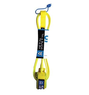 Aerial Material Surfboard Leash 9.0 Yellow - Surfing Surfboards UK Sale - Wake2o.co.uk