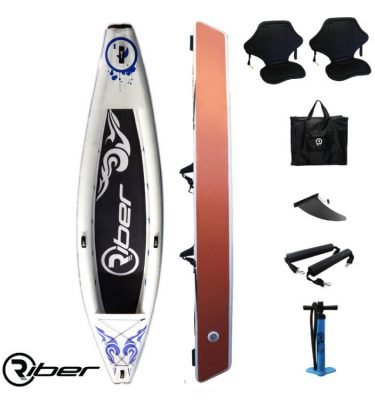 Riber 420 Inflatable Kayak - wake2o.co.uk