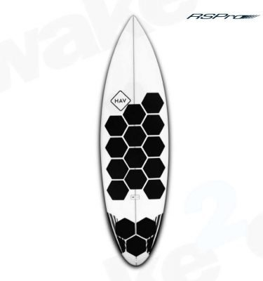 RSPro Hexatraction Black Edition Traction - Surfboard Sup Kitesurfing Traction Grip Pads - Surf Shop - Wake2o