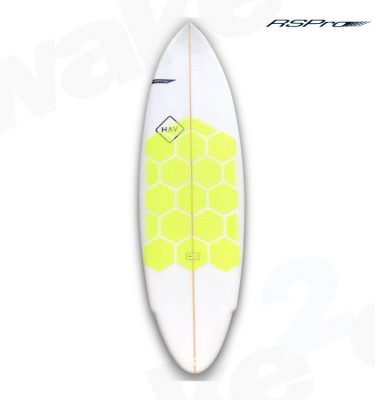 RSPro Hexatraction yellow flour Edition Traction - Surfboard Sup Kitesurfing Traction Grip Pads - Surf Shop - Wake2o
