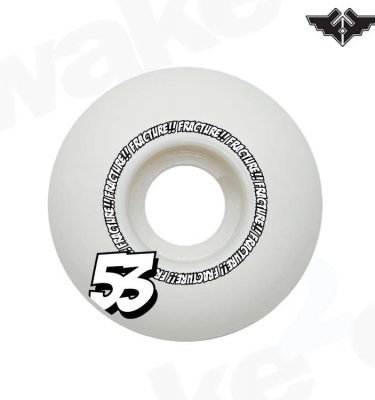 Fracture Comic Classic Skateboard Wheels 53mm - Hardwear And Accessories - Buy Best Cheap Skateboards Online At Wake2o.co.uk