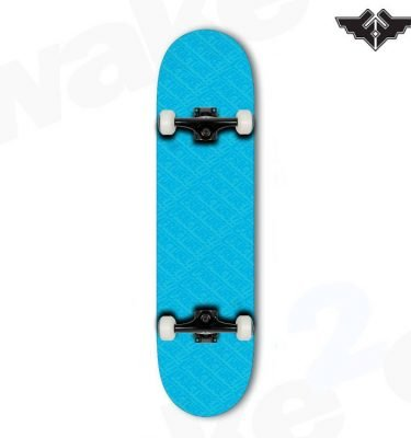 Fracture Over All Comic Complete Skateboard - Blue 7.75 - Hardwear And Accessories - Buy Best Cheap Skateboards Online At Wake2o.co.uk