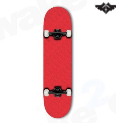 Fracture Over All Comic Complete Skateboard - Red 7.75 - Hardwear And Accessories - Buy Best Cheap Skateboards Online At Wake2o.co.uk
