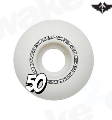 Fracture Comic Classic Skateboard Wheels 50mm - Hardwear And Accessories - Buy Best Cheap Skateboards Online At Wake2o.co.uk