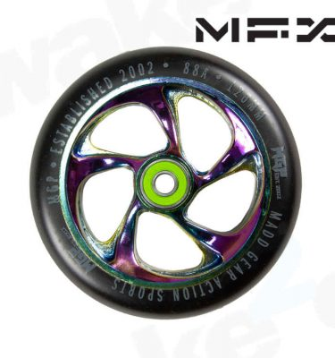 MGP MFX Cartel Core 120mm Scooter Wheels - Neo Black - Buy Best Cheap Stunt Scooters Online At Wake2o.co.uk