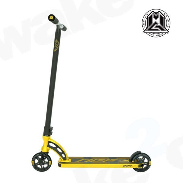 MGP VX9 Team Edition Stunt Scooter - Gold - Buy Best Cheap Stunt Scooters Online At Wake2o.co.uk