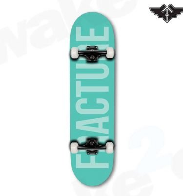 Fracture Fade Green Skateboard Complete - 8.0 - Hardwear And Accessories - Buy Best Cheap Skateboards Online At Wake2o.co.uk