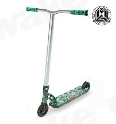 MGP VX8 Extreme Scooter - Psychedelic - Buy Best Cheap Stunt Scooters Online At Wake2o.co.uk