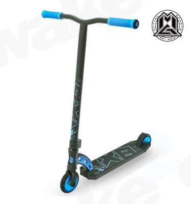 MGP VX8 Pro Scooter - Black Blue - Buy Best Cheap Stunt Scooters Online At Wake2o.co.uk