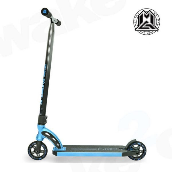 Edition Scooter - Electric Blue Chrome Bars - Buy Best Cheap Stunt Scooters Online At Wake2o.co.uk