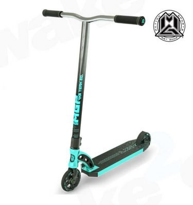 MGP VX8 Team Scooter - Turquoise Chrome Bars - Buy Best Cheap Stunt Scooters Online At Wake2o.co.uk