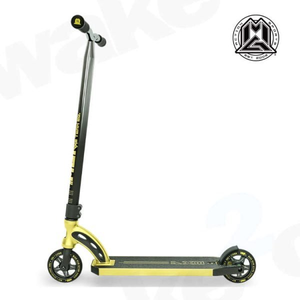 MGP VX8 Team Edition Scooter - Gold Chrome Bars - Buy Best Cheap Stunt Scooters Online At Wake2o.co.uk