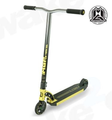 MGP VX8 Team Scooter - Gold Chrome Bars - Buy Best Cheap Stunt Scooters Online At Wake2o.co.uk