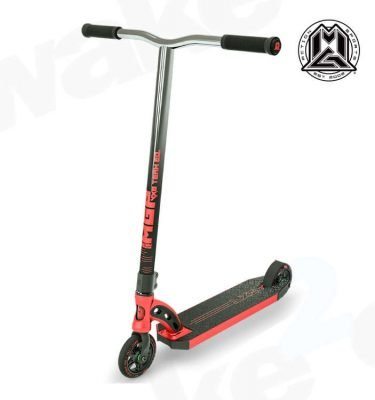 MGP VX8 Team Scooter - Red Chrome Bars - Buy Best Cheap Stunt Scooters Online At Wake2o.co.uk